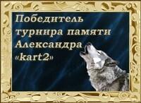 Турнир памяти kart2
