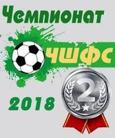 Футбол. Чемпионат 2018. 2 место